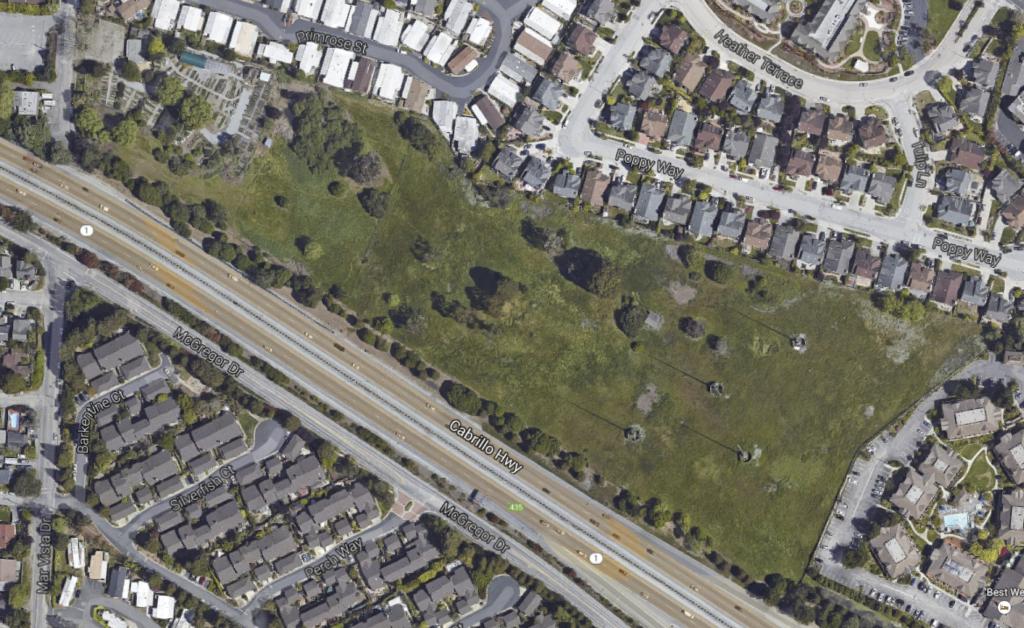 Par 3 Golf Course Aerial View