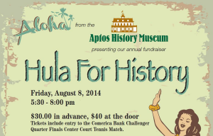Aptos History Museum Fundraiser, August 8 2014