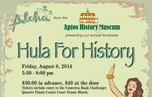 Aptos History Museum Fundraiser, August 8 2014