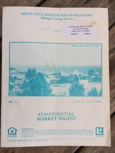 Aptos Way Back Machine:  Real Estate