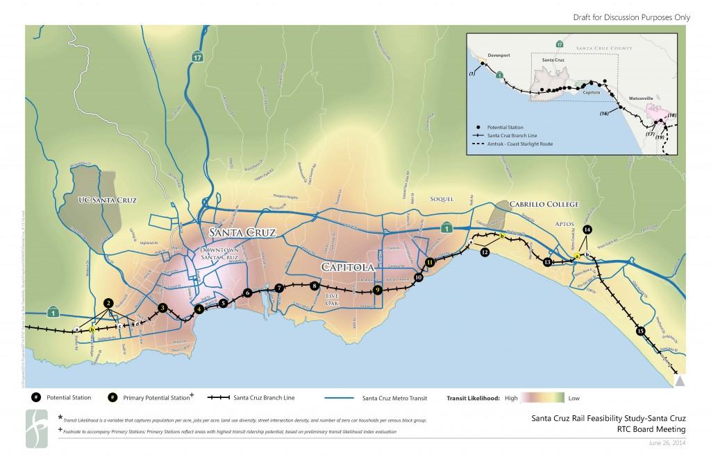 Santa Cruz Passenger Rail Stations