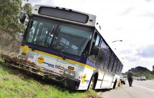 Distressed Metro Bus