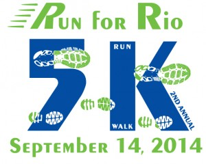 Run for Rio 5K Race – September 14