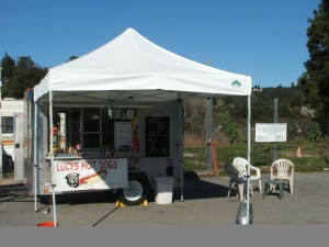 Lucy's Hot Dog Stand in Aptos