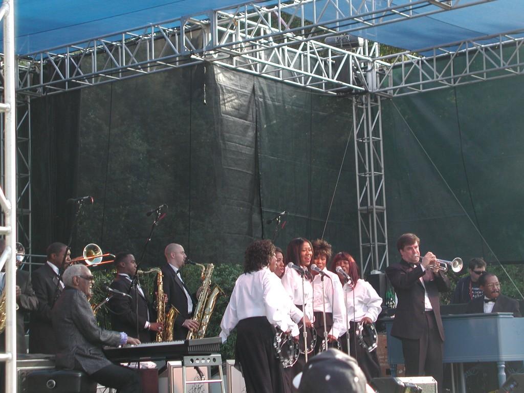 Ray Charles, Santa Cruz Blues Festival 2003