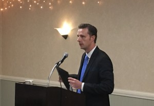 Zach Friend Speaks at Aptos Chamber