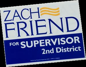 Get your Zach Friend Yard Sign!