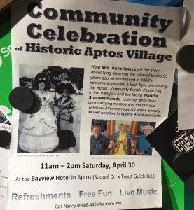 Community Celebration of Historic Aptos Village