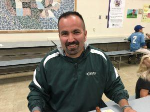 Orlando Calderon, Mar Vista Student Parent and Comcast Employee